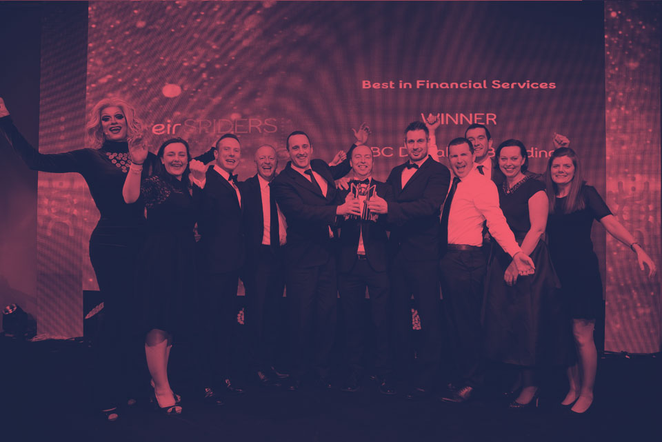 KBC, Best Financial Services winner of the Spider Awards 2016